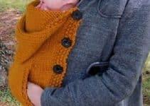 El ingenio del porta bebe tejido a crochet a tu alcance