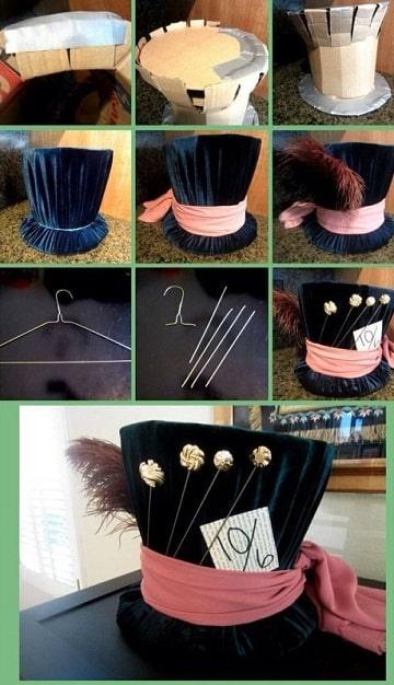 sombreros creativos faciles de hacer paso a paso