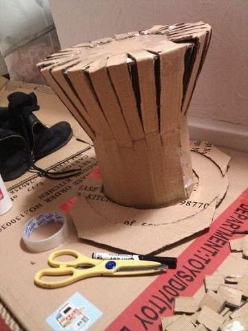 sombreros creativos faciles de hacer patron