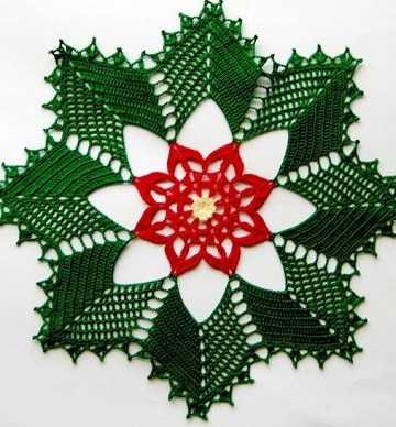 tapetes tejidos a mano para navidad