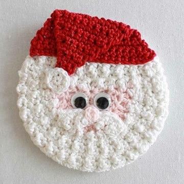 tejidos navideños a crochet alfombra