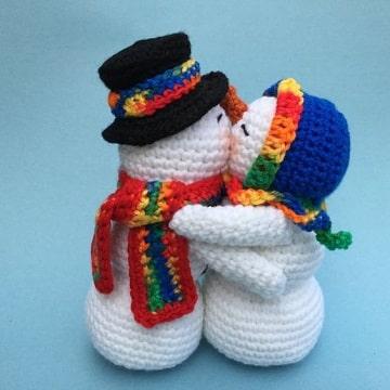 tejidos navideños a crochet amigurumi
