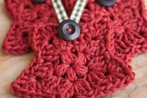Bellos adornos tejidos navideños a crochet para decorar