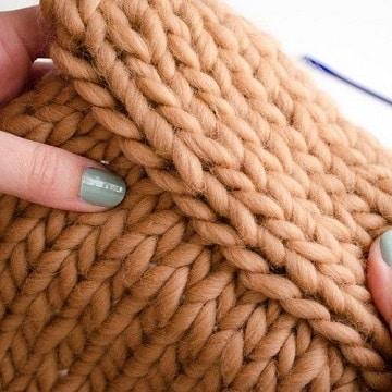 tipos de puntos para tejer dos agujas