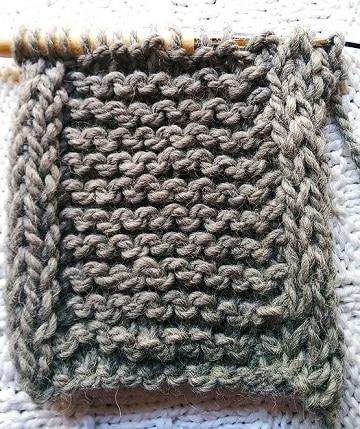 tipos de puntos para tejer para bufandas