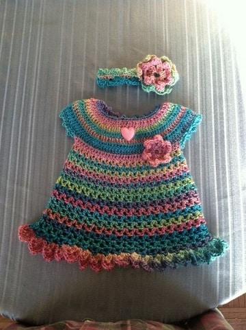 trajecitos tejidos para bebe faciles