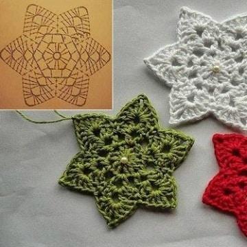 adornos navideños a crochet patrones ideas