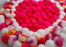 Aprendea hacer en minutos alfombras de pompones infantiles