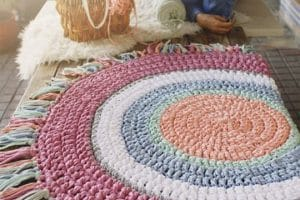 Las alfombras de trapillo ovaladas para todo lugar y gusto