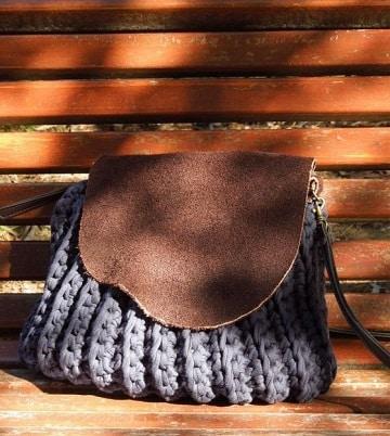 bolsos de ganchillo paso a paso lana gruesa