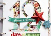 Combina utilidad y estilo en carpetas decoradas de navidad