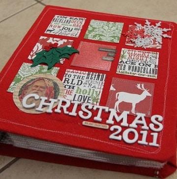 carpetas decoradas de navidad para niños