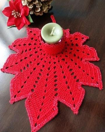 carpetas navideñas en crochet pascuas