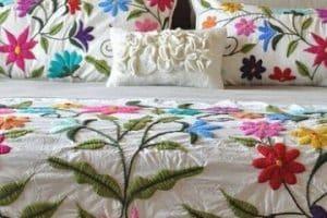 Diseños que puedes hacer de colchas para camas de matrimonio