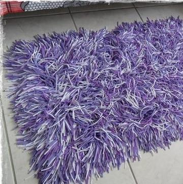 Todo sobre como hacer alfombras de nudos modernas en casa tejidos a crochet paso a paso - Como hacer alfombras de nudos ...