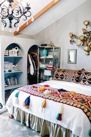como hacer colchas para cama con crochet