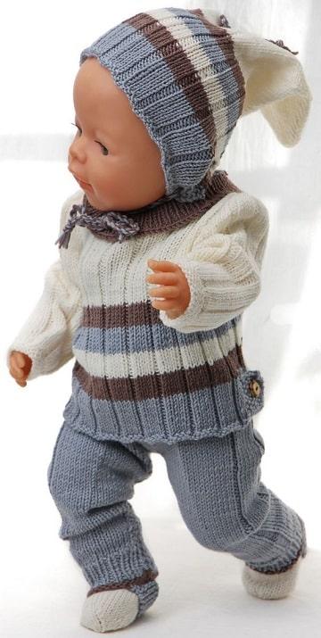 como hacer ropa para muñecas bebes idea