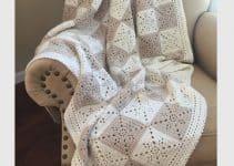 Descansa con estilo con las mantas de ganchillo para sofas