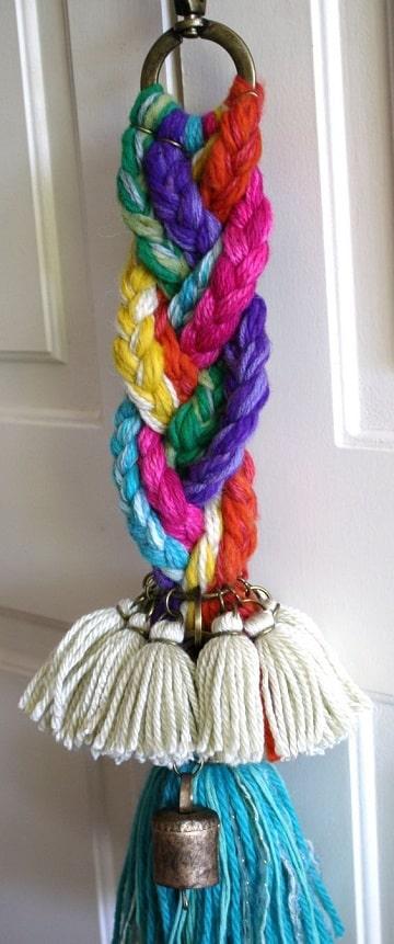 manualidades en crochet para vender adornos para puerta