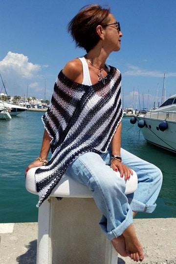 tejidos a crochet de verano mujer