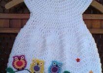Encuentra los vestidos de ganchillo para bebes originales