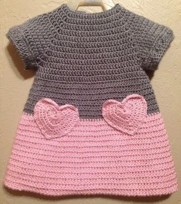 vestidos de ganchillo para bebes ideas