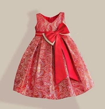 vestidos de princesas para bebes rojo