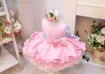 Hermosos diseños para hacer vestidos de princesas para bebes