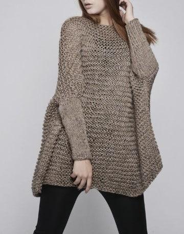 blusones tejidos a crochet con estilo
