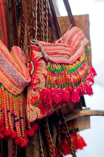bolsas tipicas de guatemala con adornos