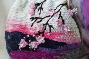 Fotos de los diseños de carteras tejidas a crochet 2017
