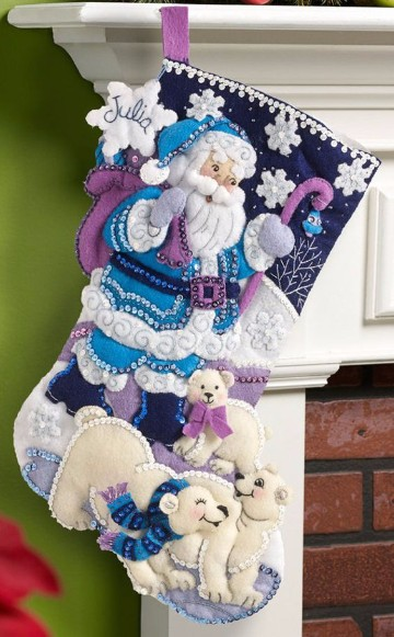 botas navideñas de foami faciles