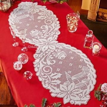centros de mesa tejidos a crochet con patrones