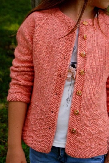 chaquetas tejidas a crochet con detalles