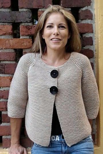 Las Chaquetas Tejidas A Crochet Modernas Y Con Mucho Estilo