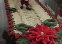 Lindas flores navideñas a crochet para decorar y celebrar