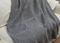 Las frazadas tejidas a crochet tan acogedoras como imaginas