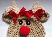 Mira unos diseños de gorros de navidad para niños divertidos