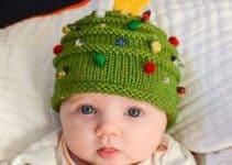 Los gorros navideños en crochet los encuentras ahora mismo