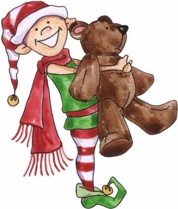 imagenes de duendes navideños con peluches