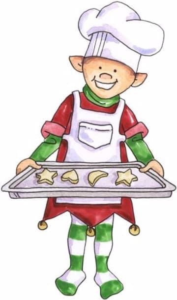 imagenes de duendes navideños panaderos