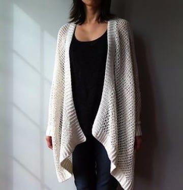 kimonos tejidos a crochet hecho a mano