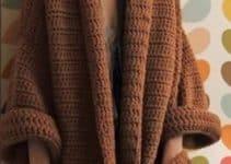 Diseños de kimonos tejidos a crochet para la moda femenina