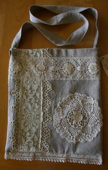 modelos de bolsos de tela creativos