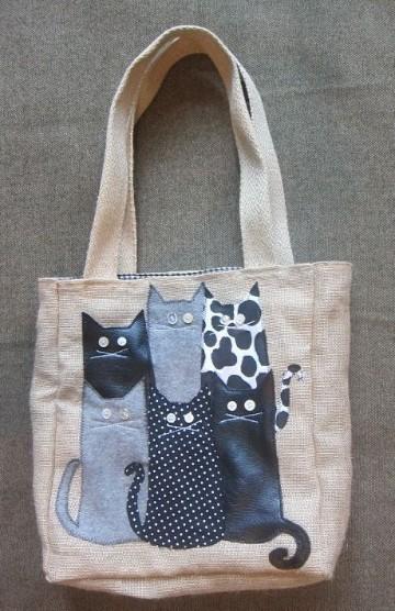 modelos de bolsos de tela diferentes