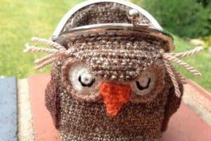 Originales monederos a crochet de animales de todo tipo