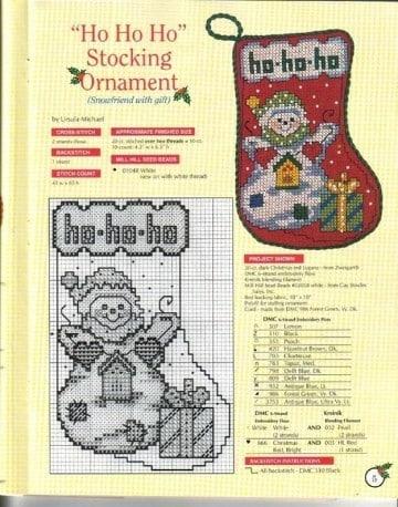 patrones de botas navideñas para imprimir