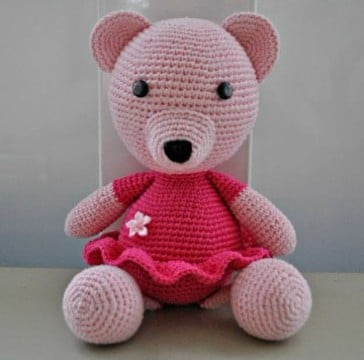 peluches tejidos a crochet hecho a mano