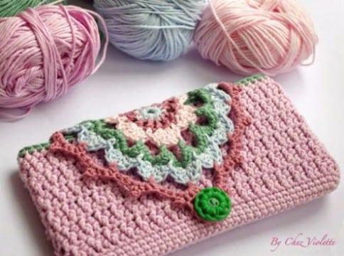 pequeñas carteras tejidas a crochet 2017
