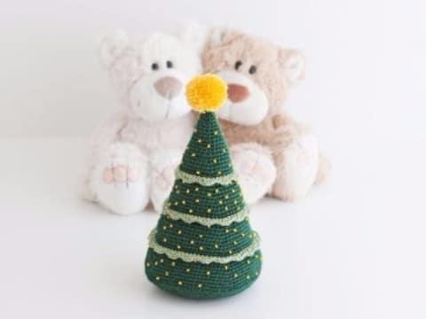 pinitos de navidad al crochet hecho en casa